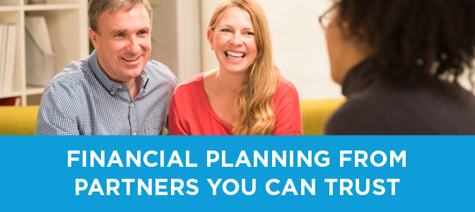 financial planning from partners you can trust