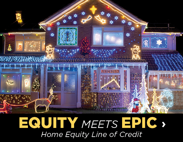 Epic meets equity, home equity line of credit
