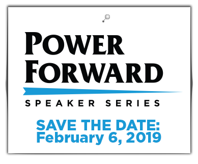 Power forward event save the date february 6, 2019